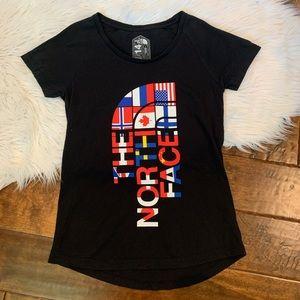 The North Face RU/14 Sochi Olympics Flag Shirt S